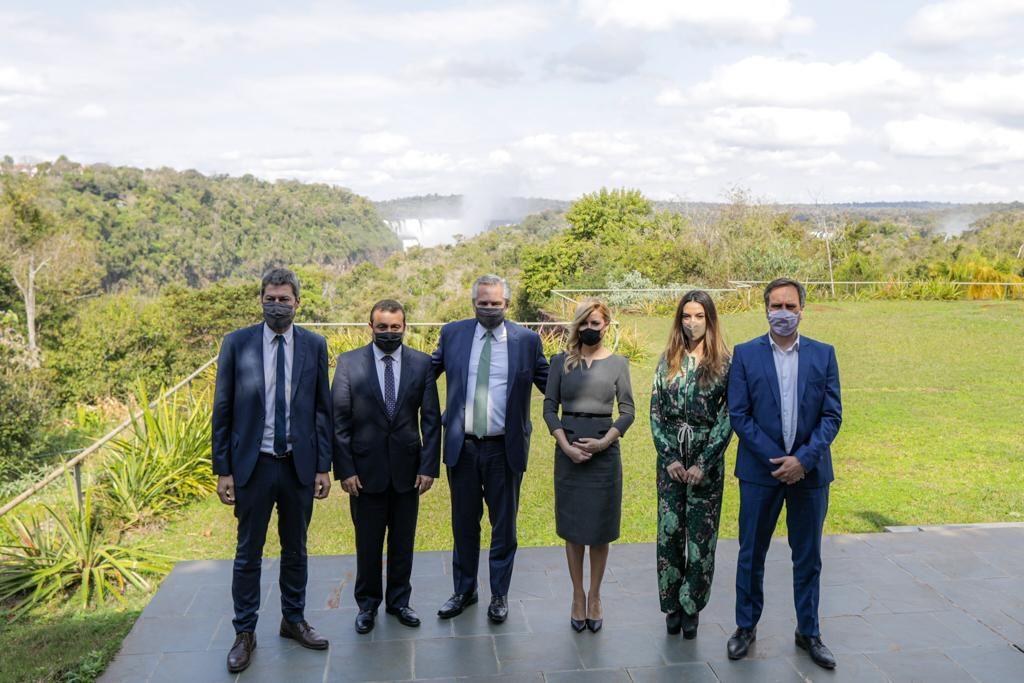 El presidente Alberto Fernández presentó en Misiones la segunda edición del programa Previaje para reactivar el turismo interno
