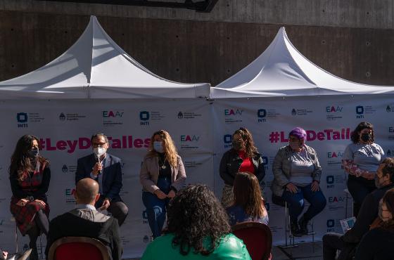Ley de talles: Paula Español y el titular del INTI lanzaron el Estudio antropométrico en la provincia de Buenos Aires