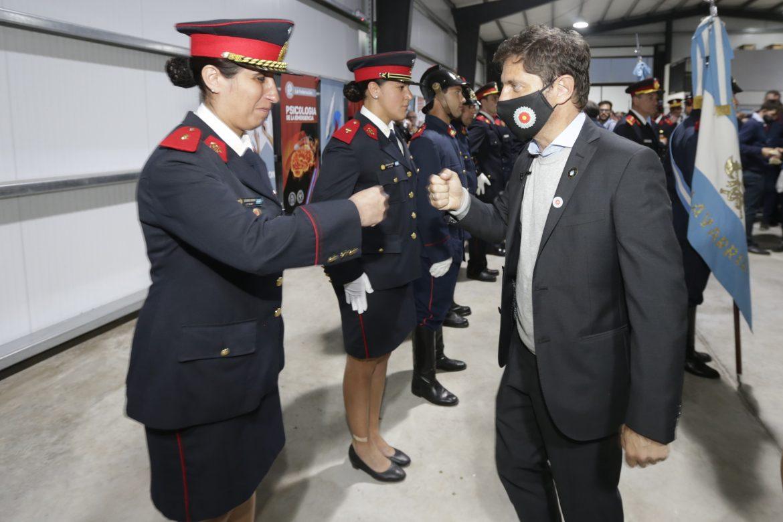 Se inauguró en Tapalqué el Primer Centro de Entrenamiento para Bomberos Voluntarios del país