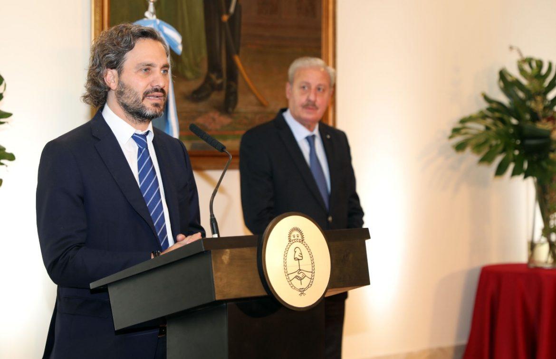 Cafiero agradeció a los líderes religiosos en Argentina por su trabajo espiritual durante la pandemia