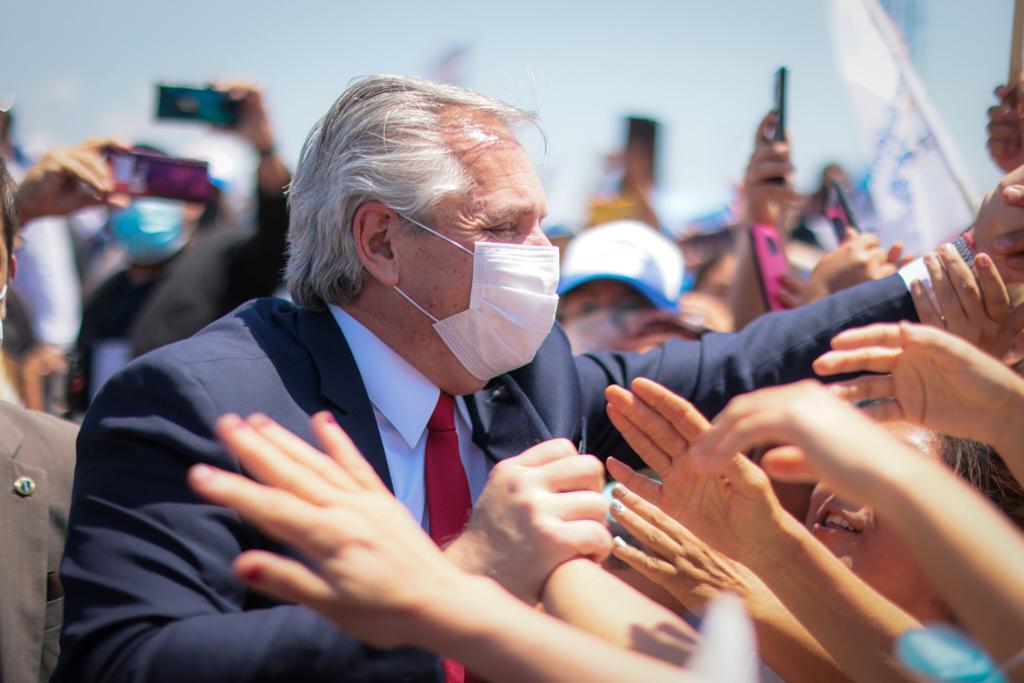 """El presidente Fernández abogó por una serie de iniciativas para garantizar """"un nuevo contrato global, inclusivo y sostenible"""""""