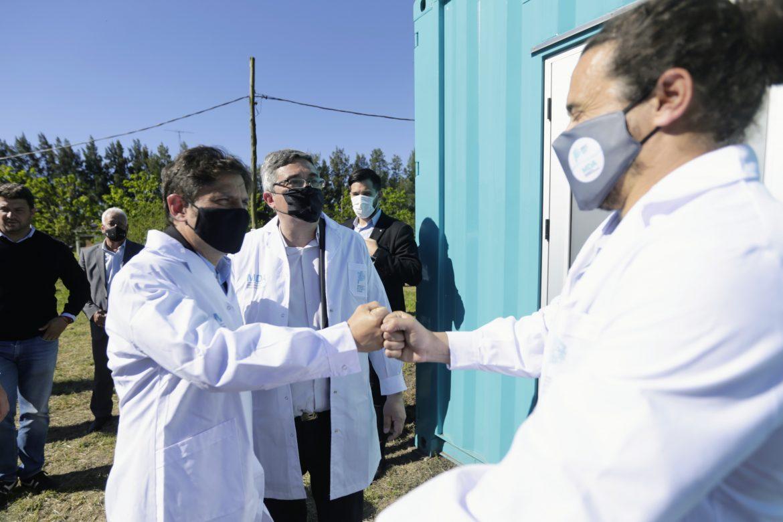 Kicillof inauguró un laboratorio de multiplicación vegetal en Mercedes
